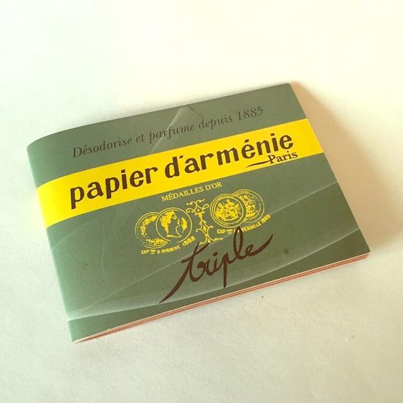 Papier D Armenie Makeup Papier D Armenie Original Burning Papers Poshmark